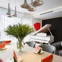 Tuhachevsky Street Apartment by Elena Chernigina and Anton Bazaliysky