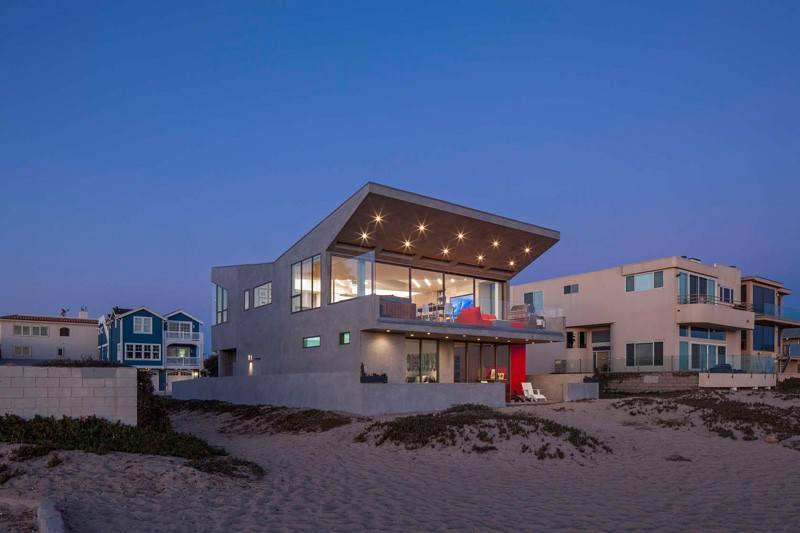 Silver Strand Beach House By Robert Kerr Architecture The Architect S Description