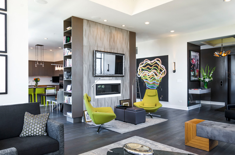 Contemporary Condo In Chicago
