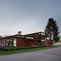 Rock River House by Bruns Architecture