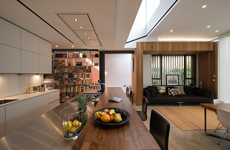 A House For Book Lovers In Hampstead