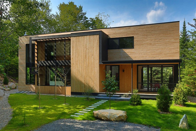 La Chasse-Galerie by Thellend Fortin Architects