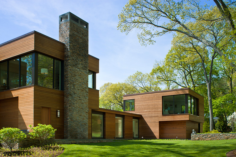 Modern House In Connecticut