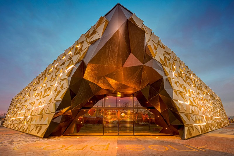 Gold souk by Liong Lie Architects and Leaders against routine