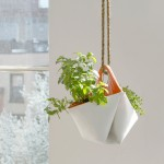 These Hanging Herb Planters Are Made From Scrap Boat Sails