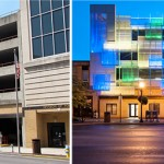 Before And After – A Parking Garage In Kentucky Gets A Facelift