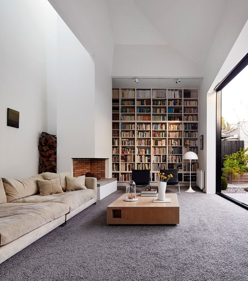 This living room is hot on pinterest today contemporist for Modern living room decor pinterest