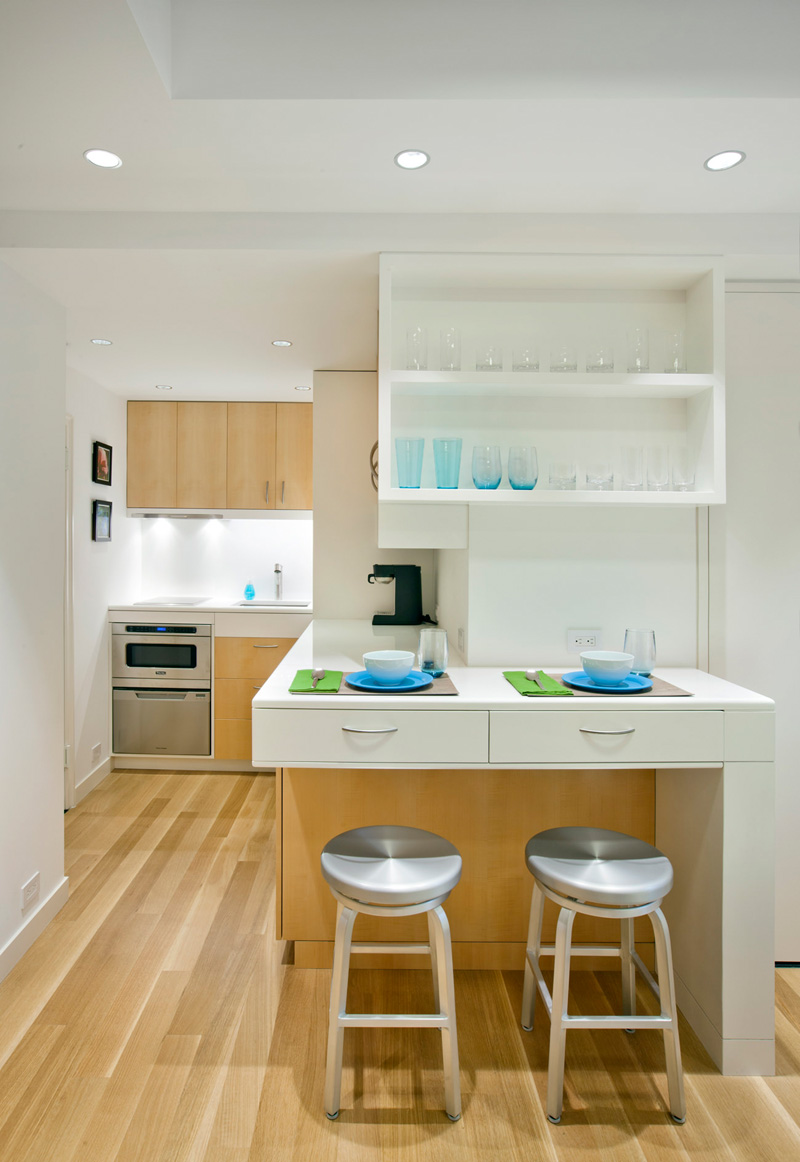 New York City Micro-Apartment By Allen + Killcoyne Architects