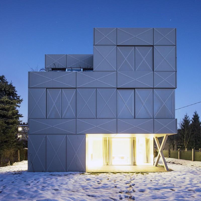 Villa Criss Cross Envelope By Ofis Architects Contemporist