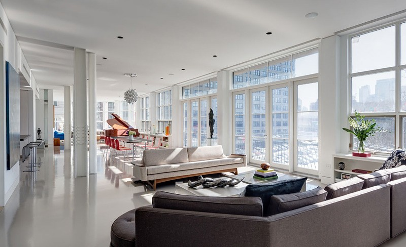 Three Brooklyn Apartments Combined Into A Full Floor