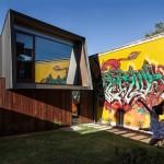 An Urban House That Encourages Graffiti