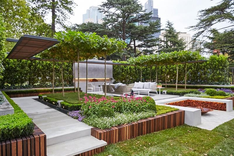 Beautiful 19 Contemporary Garden Pergolas Minimalist