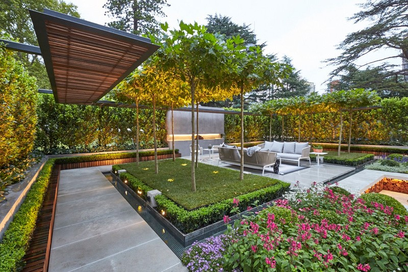 A Goldworthy Garden Installation By Nathan Burkett | Contemporist