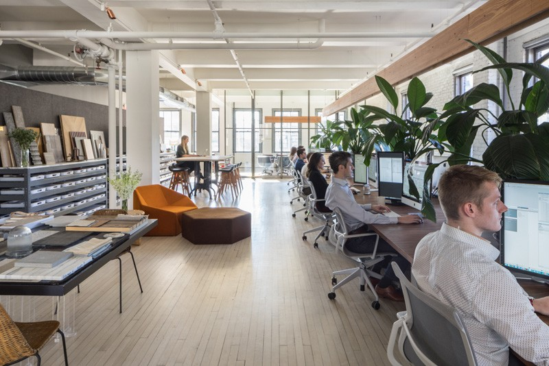 Inc Architecture Design Their Own Office In New York