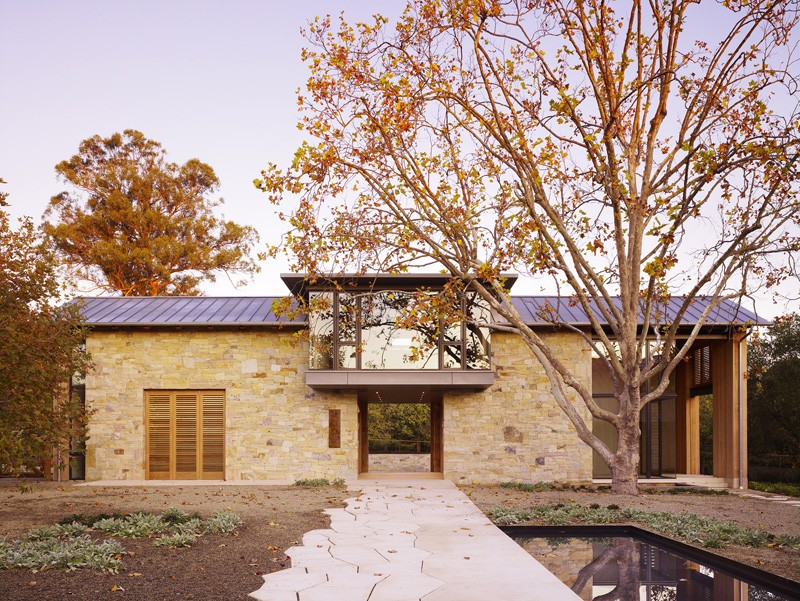 Mountain Wood Home By Walker Warner Architects