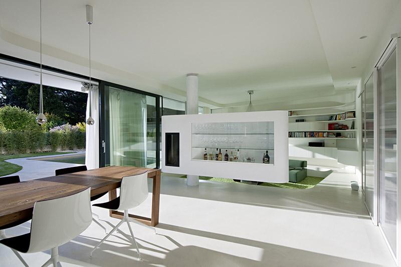 A Multi-Purpose Cantilevered Cabinet