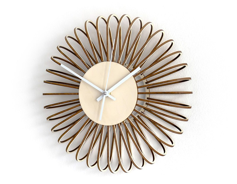 Puff Wall Clock by GorjupDesign