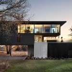 This Elevated House Overlooks A Fruit Orchard And Vineyard