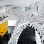 MARC FORNES/THEVERYMANY Creates Two Sculptural Installations In France