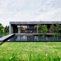 The Wall House by FARM