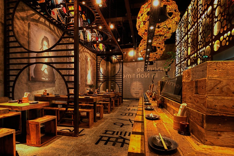 Japanese Restaurant Interior. brand new design japanese restaurant ...