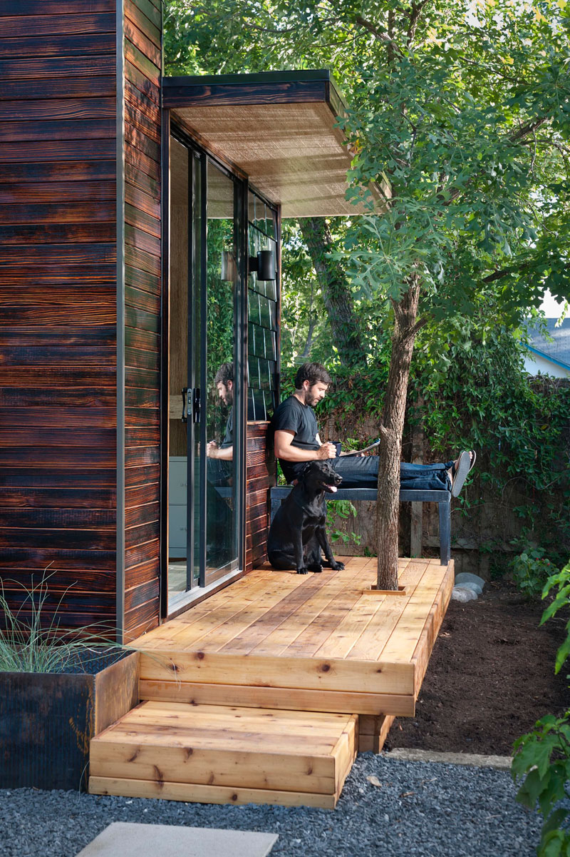 outdoor shed office. 92 Square Foot Backyard Office By Sett Studio Outdoor Shed I