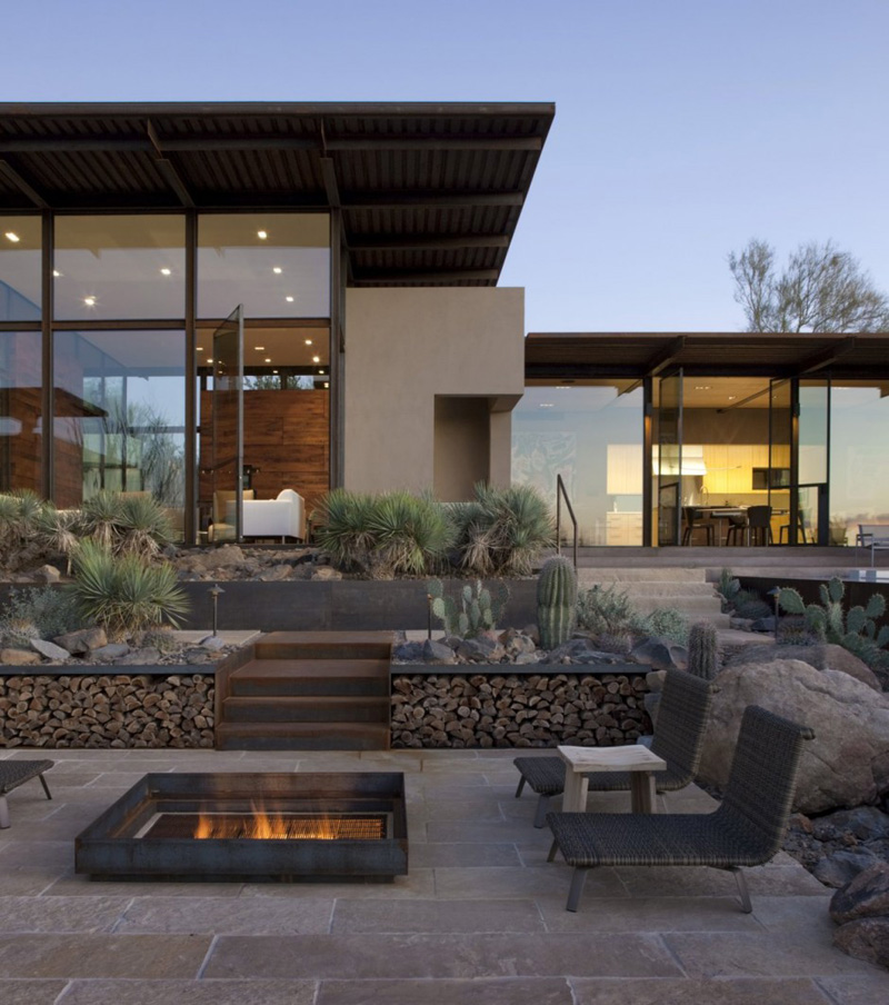 Brown Residence by Lake|Flato Architects