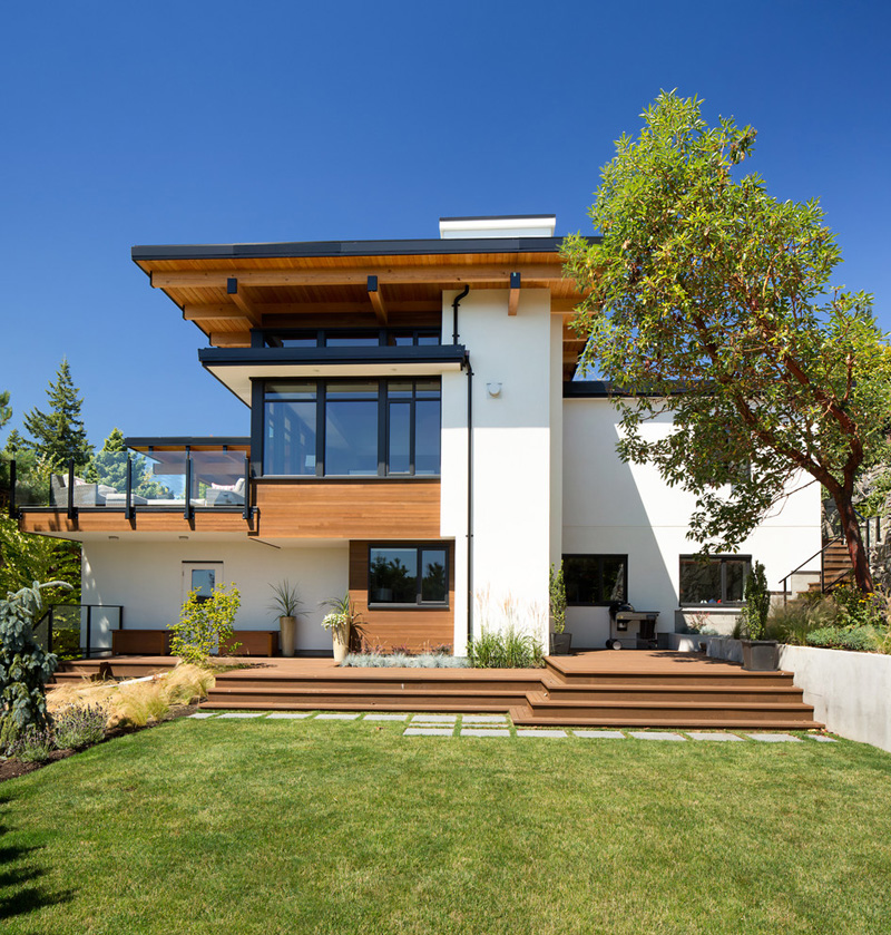 West Coast Contemporary Home Design House Design And Decorating