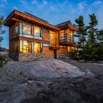 An Architect's Own Home In Cottage Country