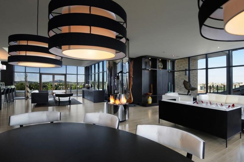 Design Detail - Circular Fireplace