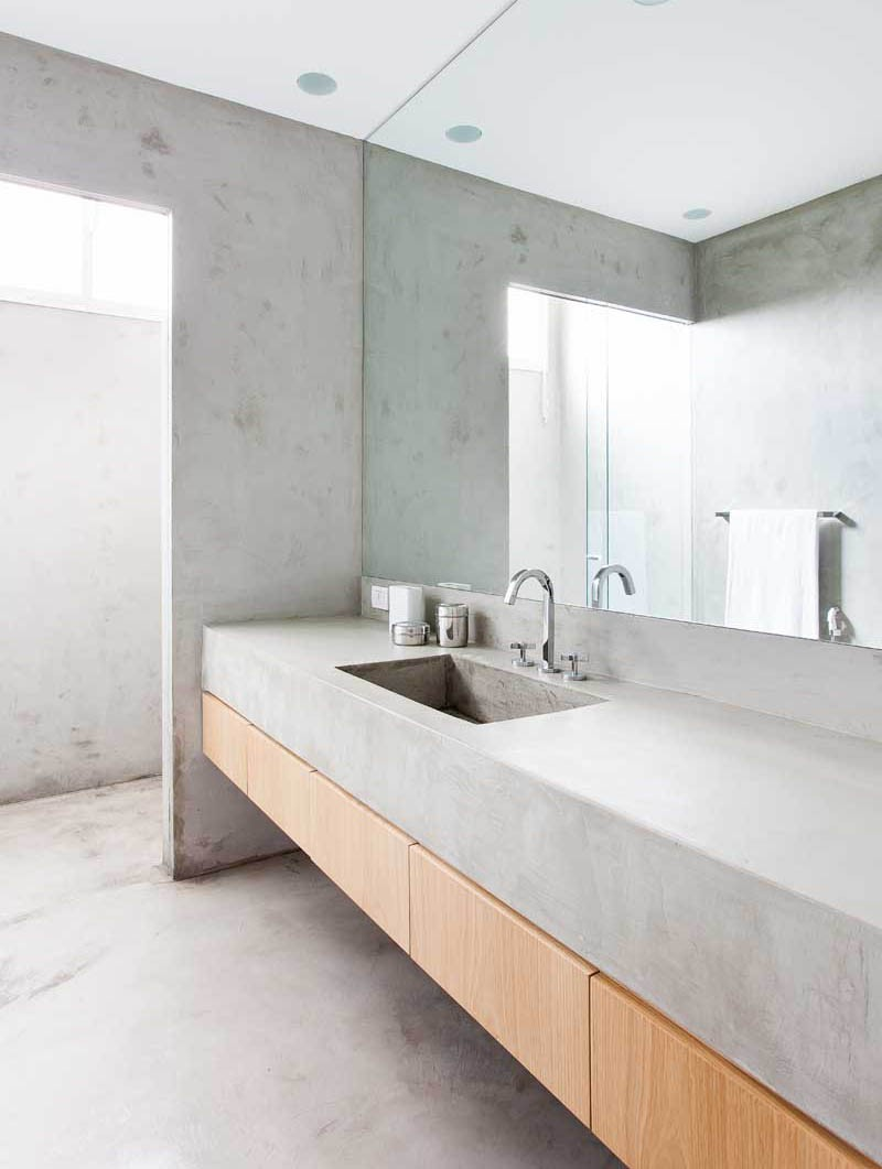 Concrete Bathroom Countertop