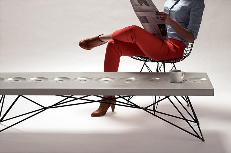 Orson Concrete Coffee Table By Brandon Gore