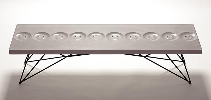 Orson Concrete Coffee Table By Brandon Gore