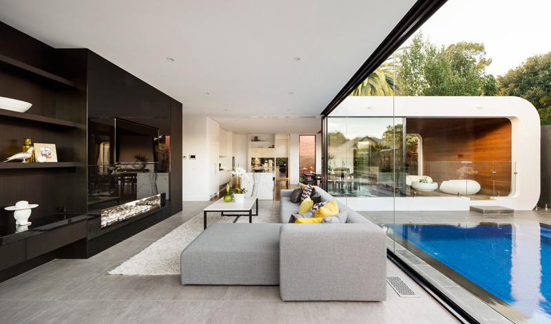 Curva House by LSA Architects