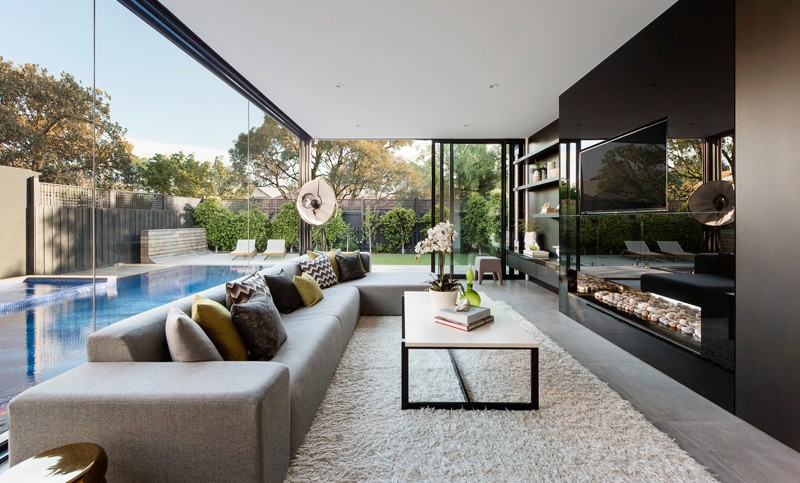 A contemporary addition for a heritage home in melbourne for Home architecture melbourne