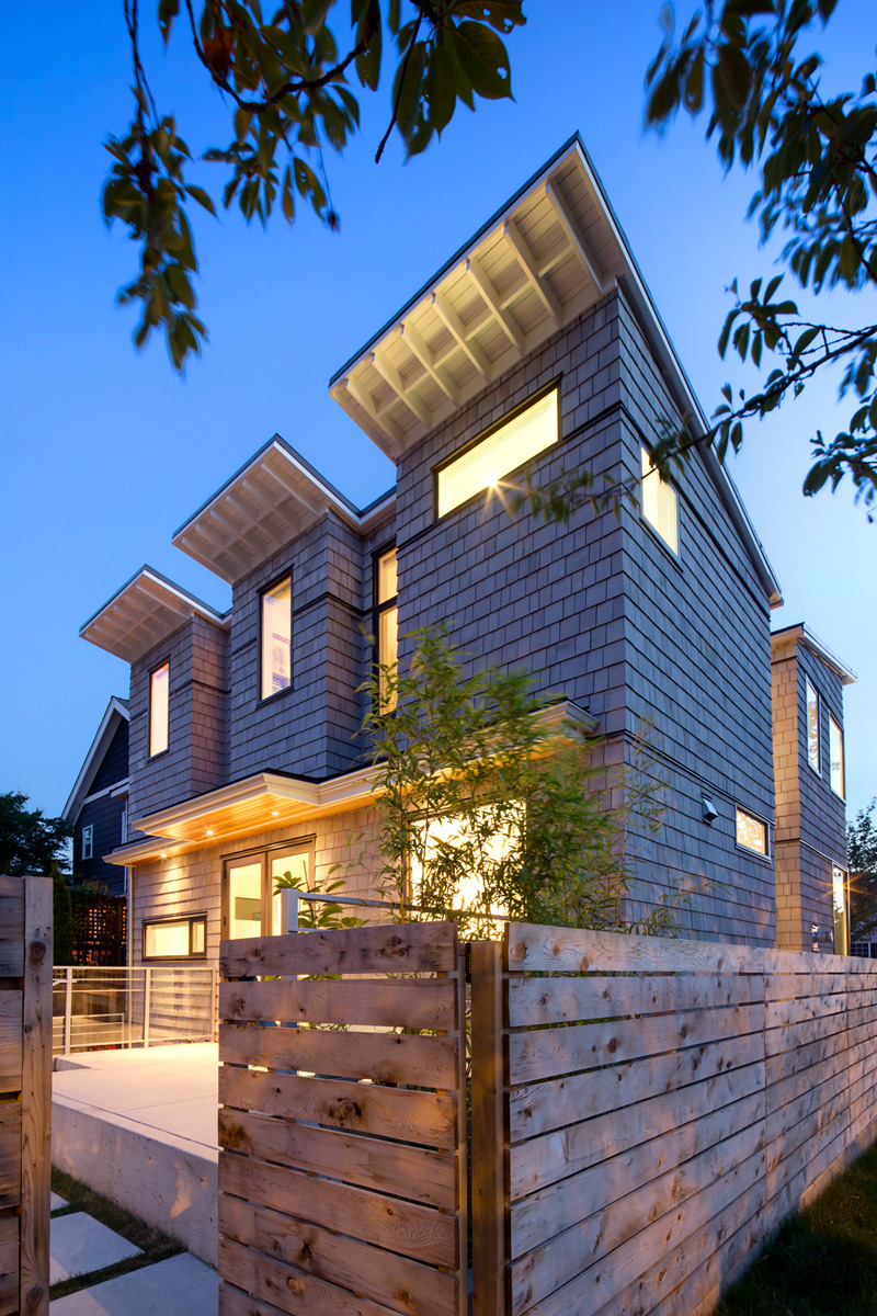 Randy Bens Designs A House On A Corner Lot In Vancouver