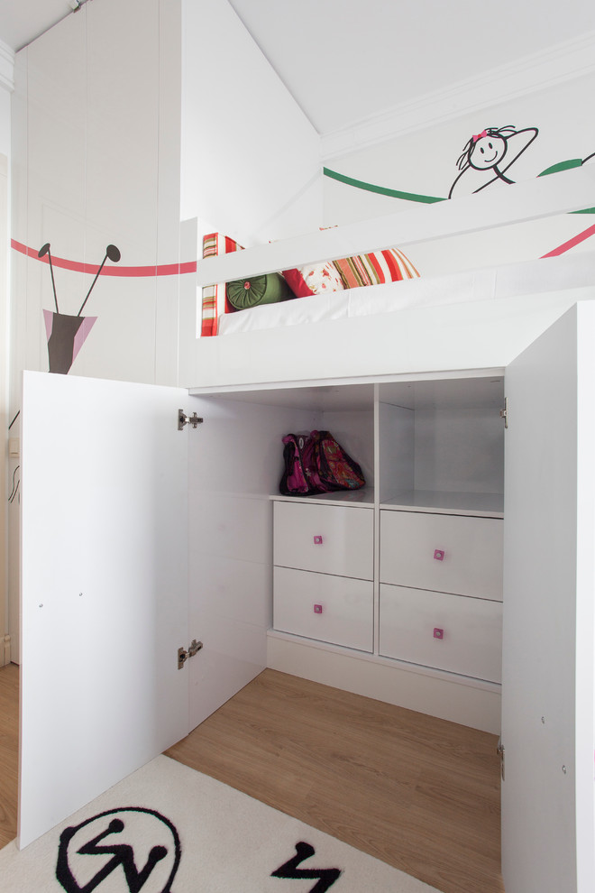 Bedroom For Two Girls By Pebble Design