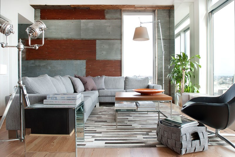 An Industrial Interior For This Apartment In Philadelphia