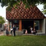 A Home Extension Designed To Maximize Sociability
