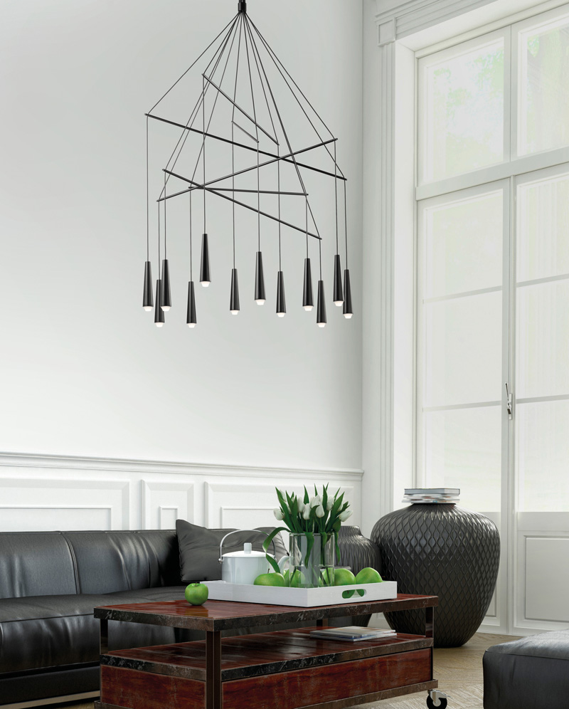 Italian Lighting Brand Morosini Mikado By Filippo Mambretti For