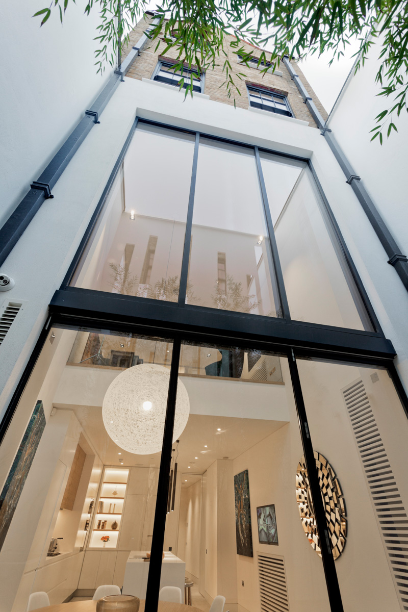 Narrow House By Form Design Architecture