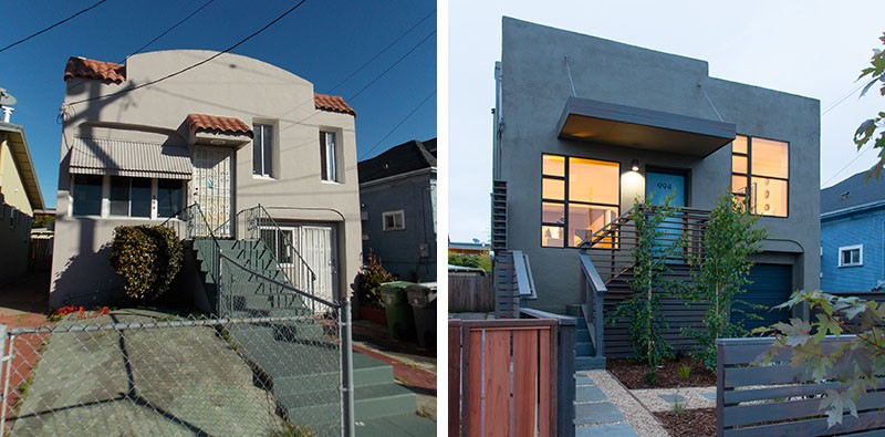 Before Amp After An Oakland House Transformation