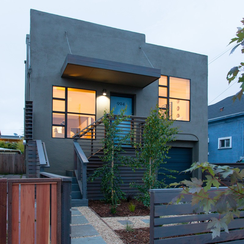Before after an oakland house transformation contemporist House transformations exterior