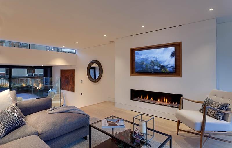 Design Tip Recess A Tv Above Fireplace