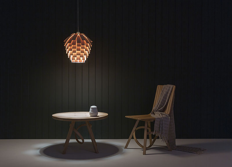 Scots Light By Tom Raffield