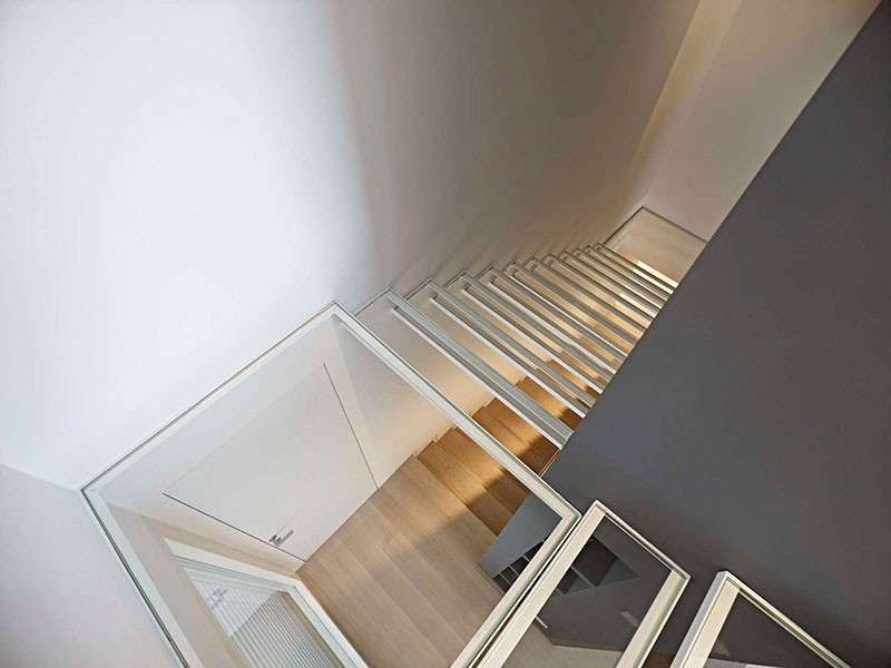 See-through stairs