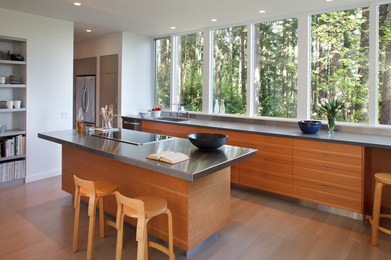 Skagit River House By Studio Sarah Willmer