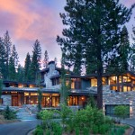 A Home For A Family In The Sierra Mountains Of California