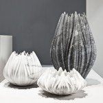 Zaha Hadid Creates The Tau Vase From Marble