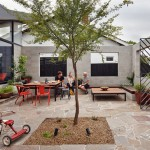 A Semi-Private Courtyard Extends The Living Space Of This Home